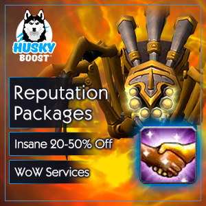 Reputation Discount Packages in WoW