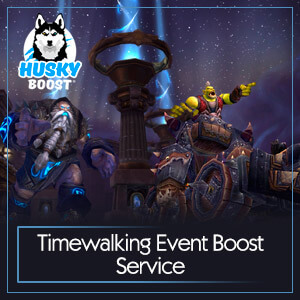 Timewalking Event Boost Service