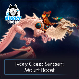 WoW Ivory Cloud Serpent Mount Boost