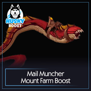 WoW Mail Muncher Mount Farm Boost