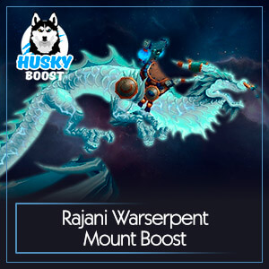 WoW Rajani Warserpent Mount Boost