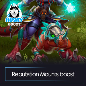 WoW Reputation Mounts Farm Boost