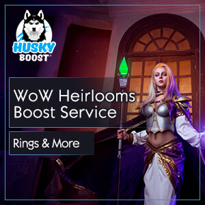 WoW Heirlooms Boost Service