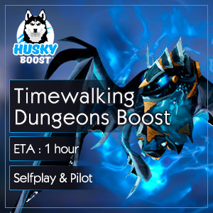 Timewalking Dungeons Carry Boost