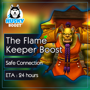 Buy The Flame Keeper Boost Service