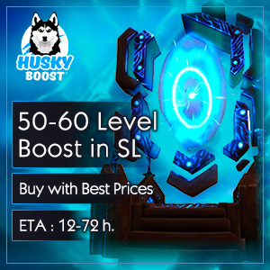 Buy WoW Shadowlands 50-60 Level Boost