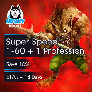 Super Speed 1-60 + 1 Profession (save 10%)