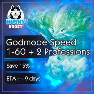 Godmode Speed 1-60 + 2 Professions (save 15%)