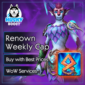 Covenant Renown Weekly Cap Boost in WoW SL