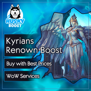 Kyrians Renown Boost in WoW SL