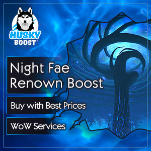 Night Fae Renown Boost in WoW SL