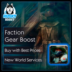 Faction Gear Boost in New World