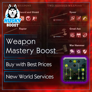 Weapon Mastery Boost in New World