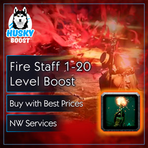 Fire Staff 1-20 Level Boost in NW