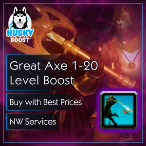 Great Axe 1-20 Level Boost in NW